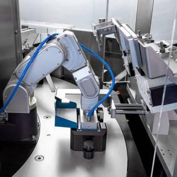 Carton folding machine by GTE Engineering