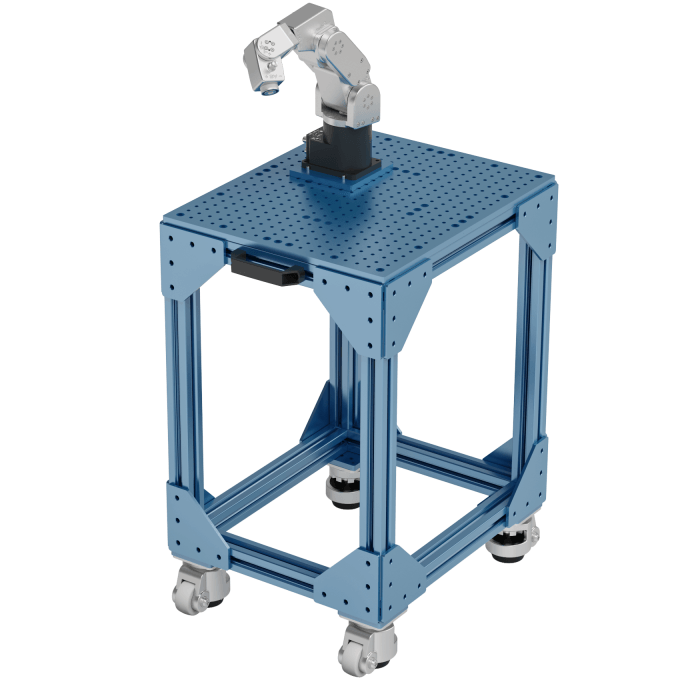 Vention table with Meca500 robot