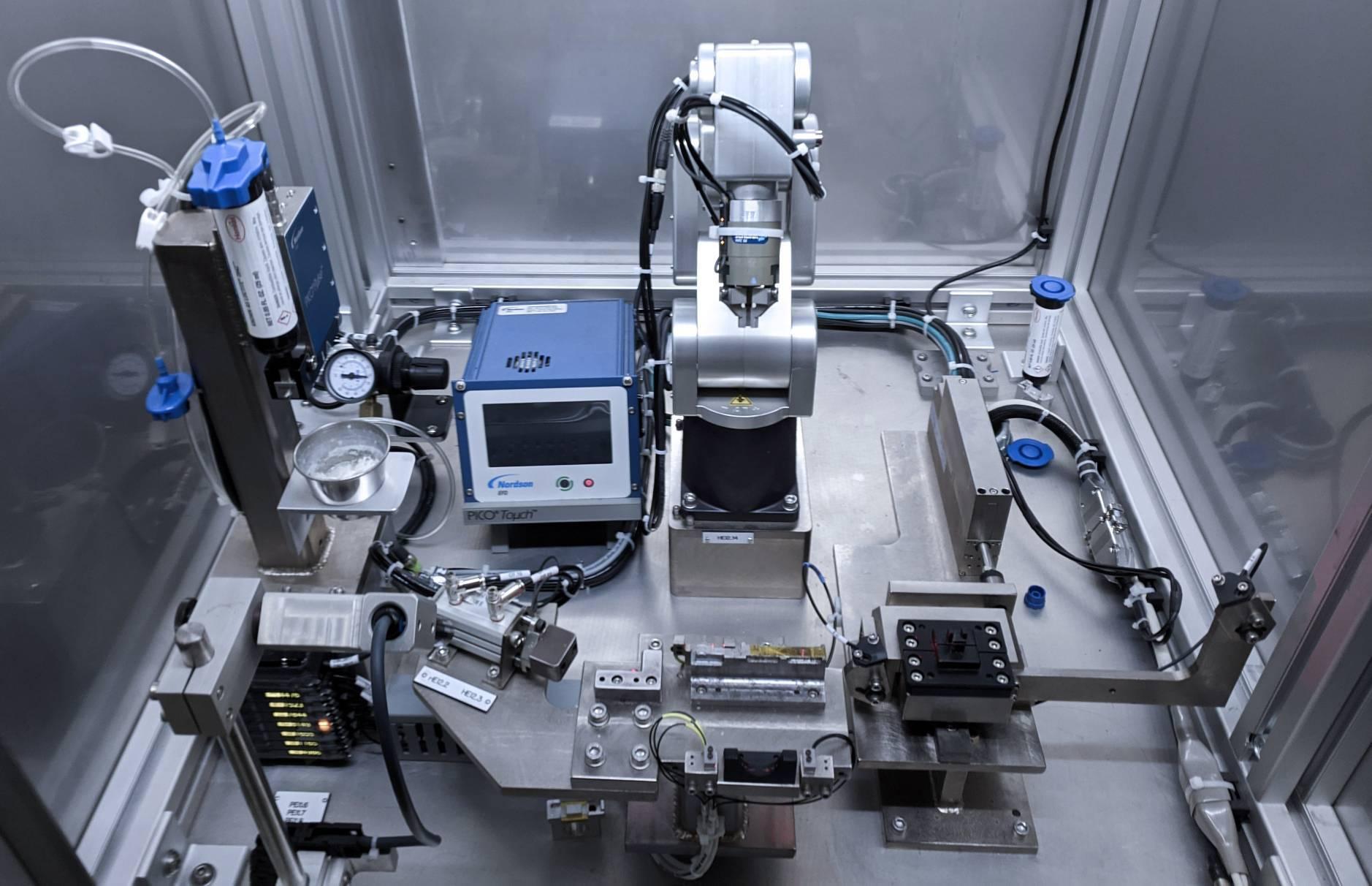 Meca500 robot cell at Token Ring