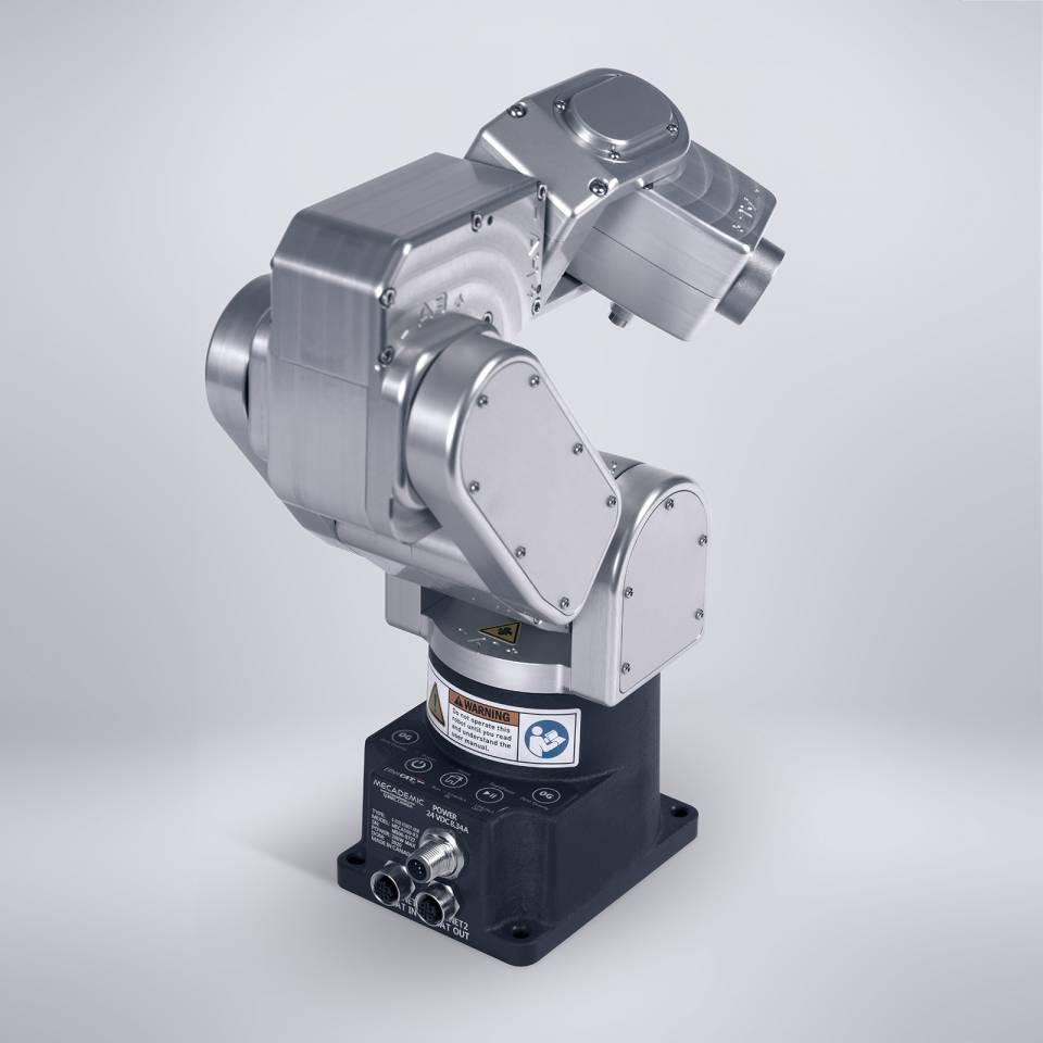 Back of Meca500 industrial robot