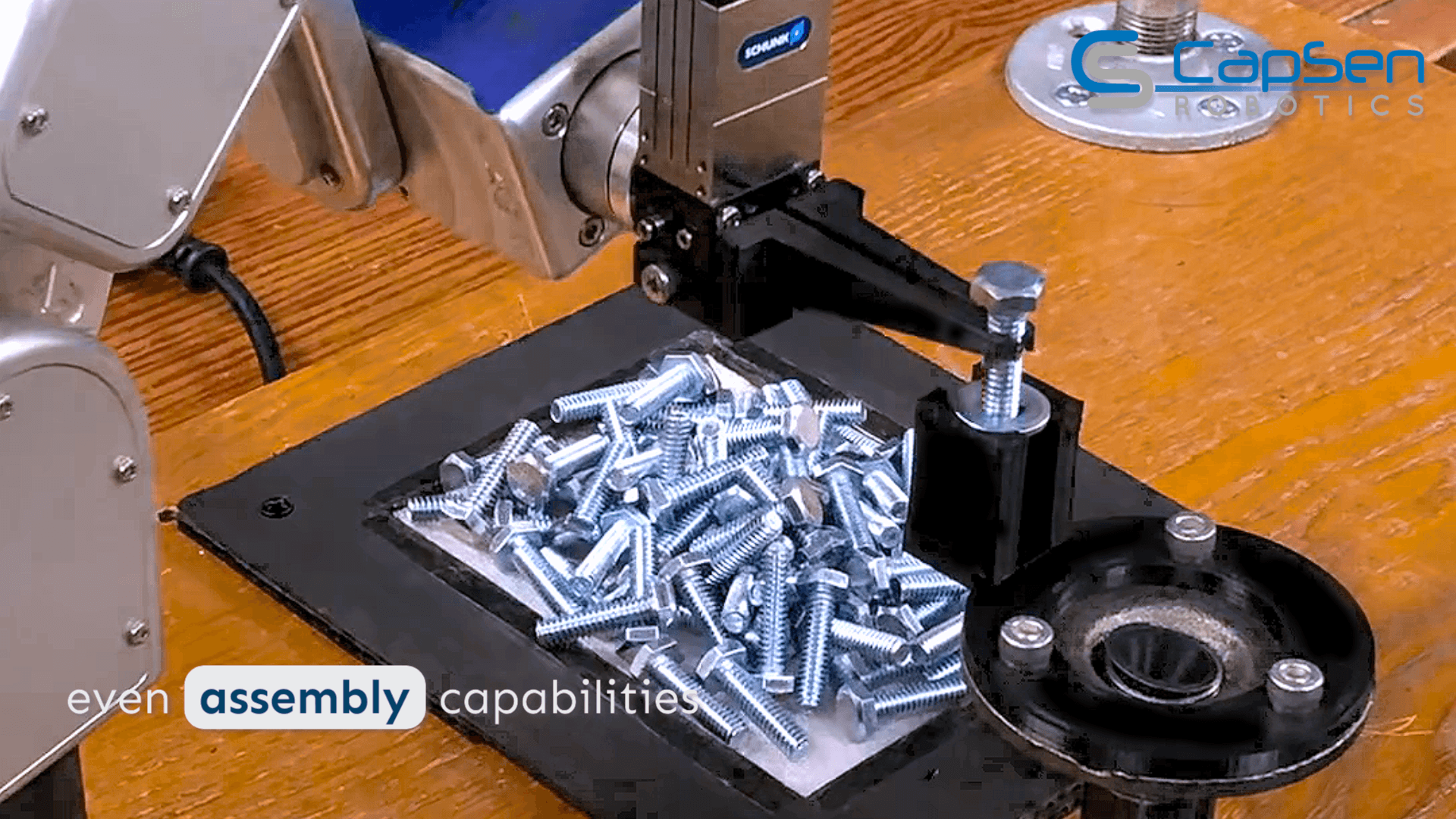 CapSen Robotics with Meca500 industrial arm